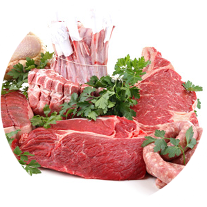 Beef, Poultry & Pork