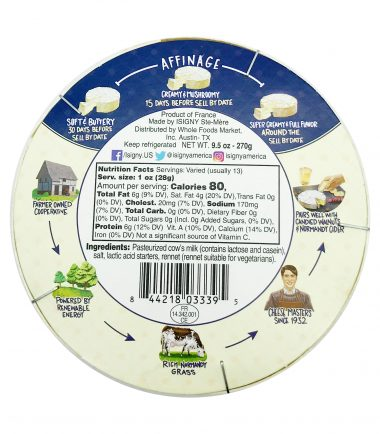 Double Cream Brie, 9.5 oz, Isigny Ste Mere _ Whole Foods Market 2