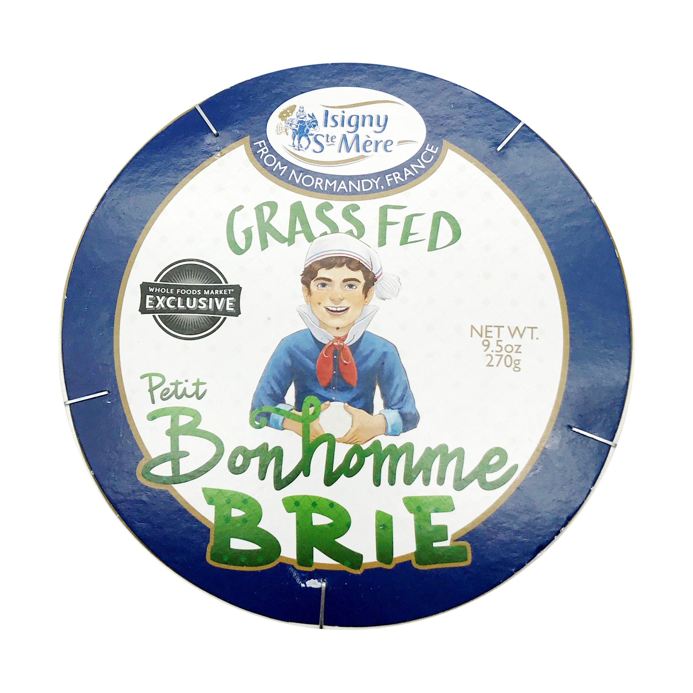 Double Cream Brie, 9.5 oz, Isigny Ste Mere _ Whole Foods Market