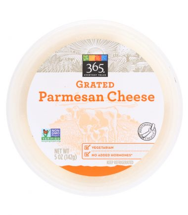 Grated Parmesan Cheese, 5 oz, 365 Everyday Value® _ Whole Foods Market